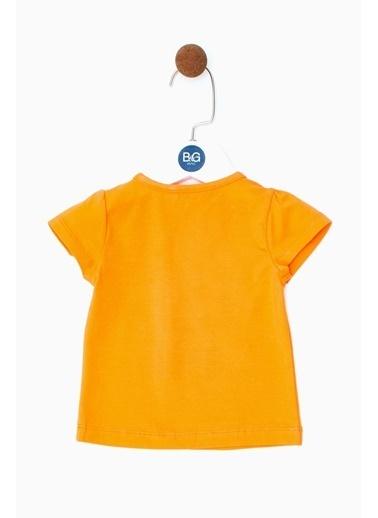 BG Baby Kız Bebek Oranj T-Shirt 19SS0BG2531 Oranj